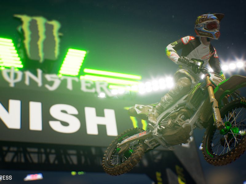 7a7b2744a1514 Monster Energy Supercross 2 scatena l energia nel primo video  gameplay source%3Dgooglier
