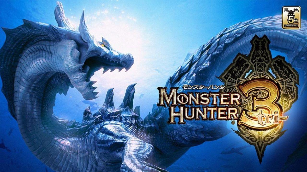 Monster Hunter 3, immagini dalla modalità split screen