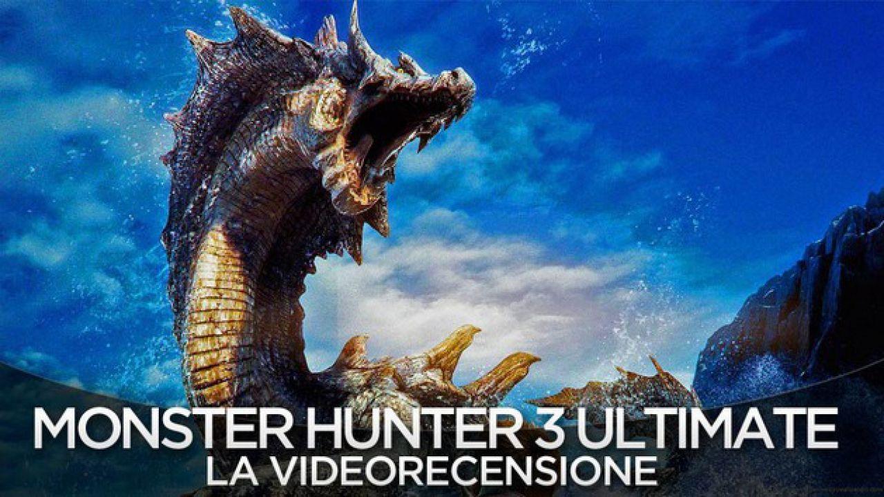 Monster Hunter 3 Ultimate: online la patch per Wii U