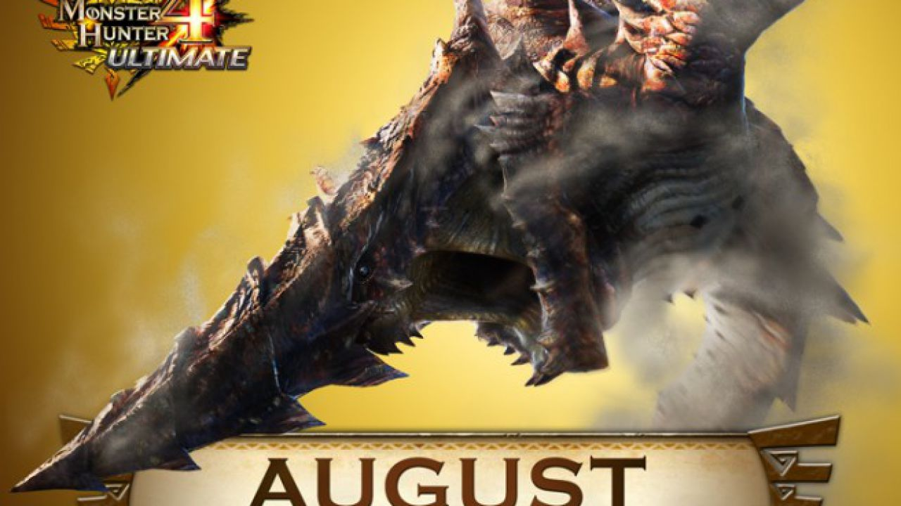 Monster Hunter 4 Ultimate: disponibile il DLC gratuito di agosto