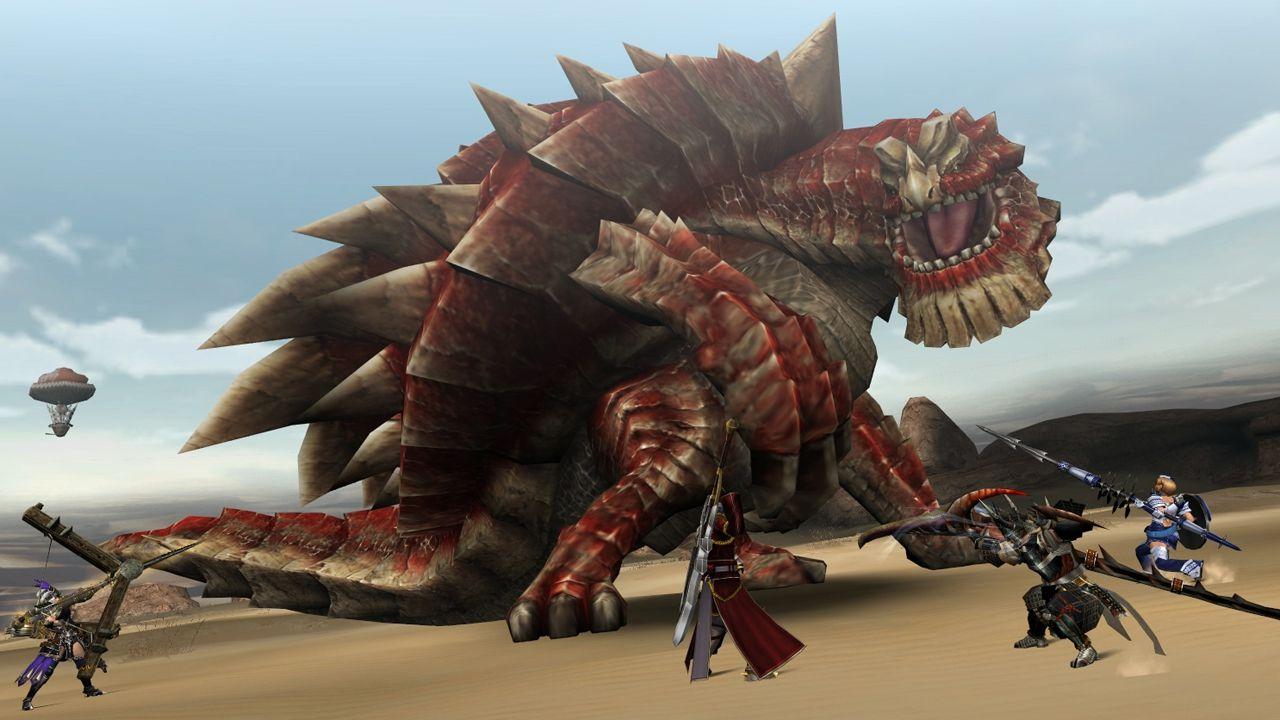 Monster Hunter Frontier G per PlayStation Vita: beta al via