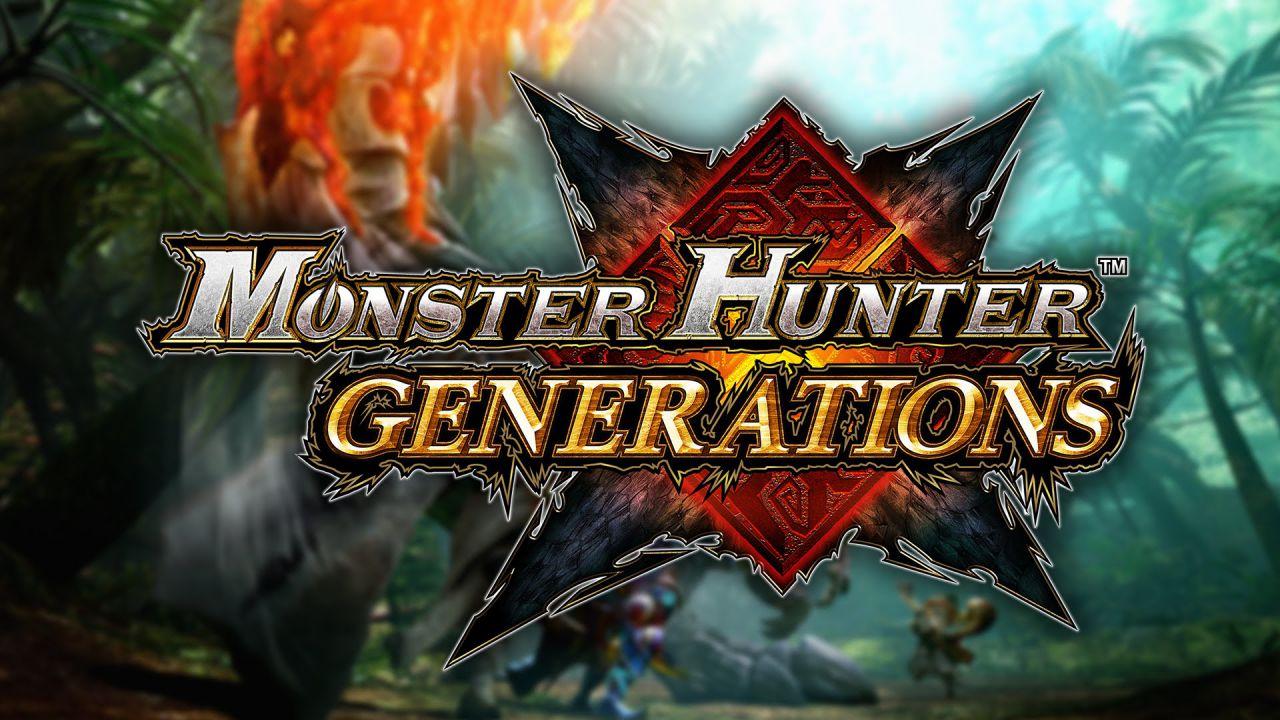 Monster Hunter Generations è il gioco per 3DS più venduto sull'eShop - 19 luglio