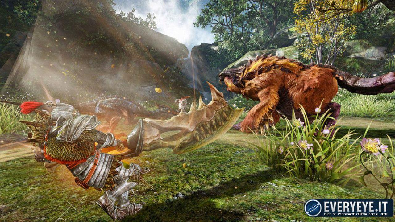 Monster Hunter Online si mostra in video e immagini