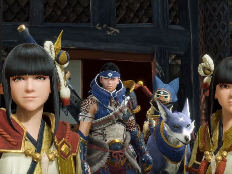 Monster Hunter Rise: how to use the character editor