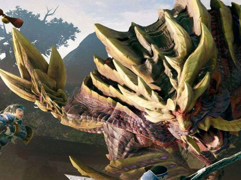Monster Hunter Rise: Demo 2 with the Magnamalo available for download