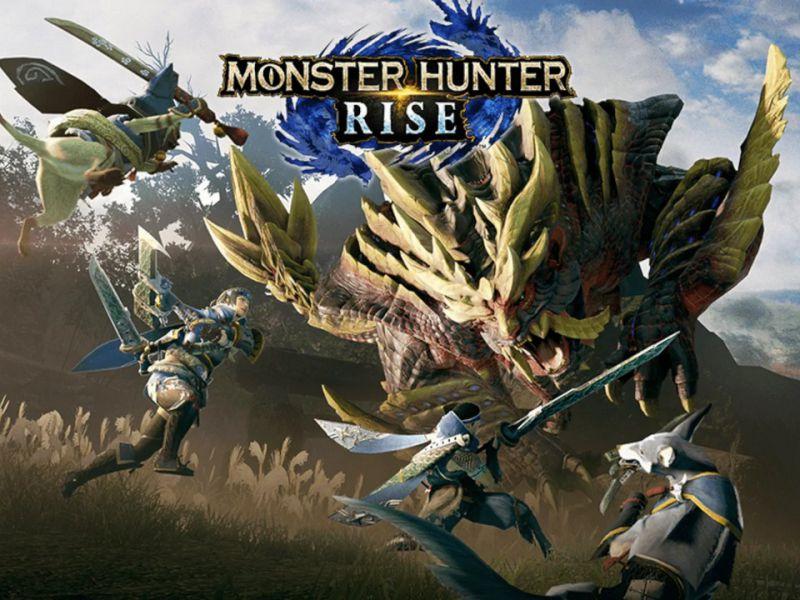Monster Hunter Rise: Marathon today and event with Cydonia, Sabaku and Kurolily on March 26