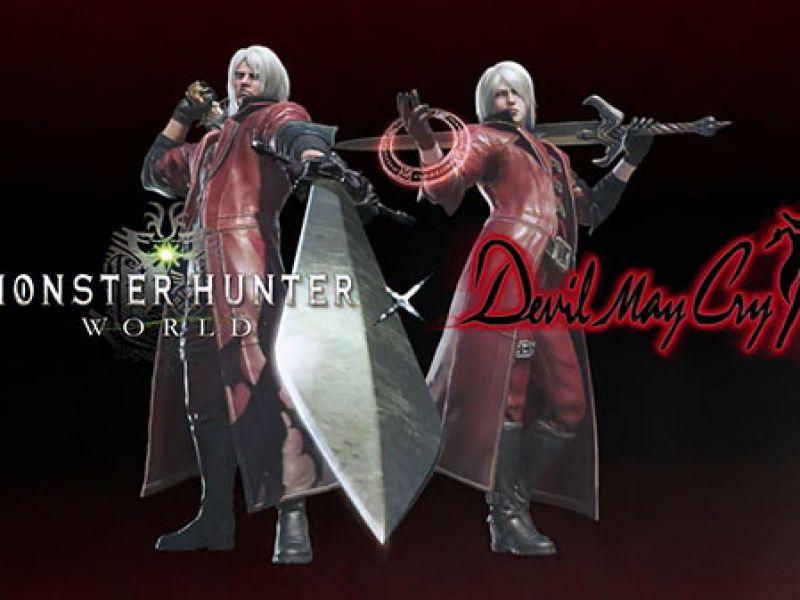 Monster Hunter World: annunciata una collaborazione con Devil May Cry