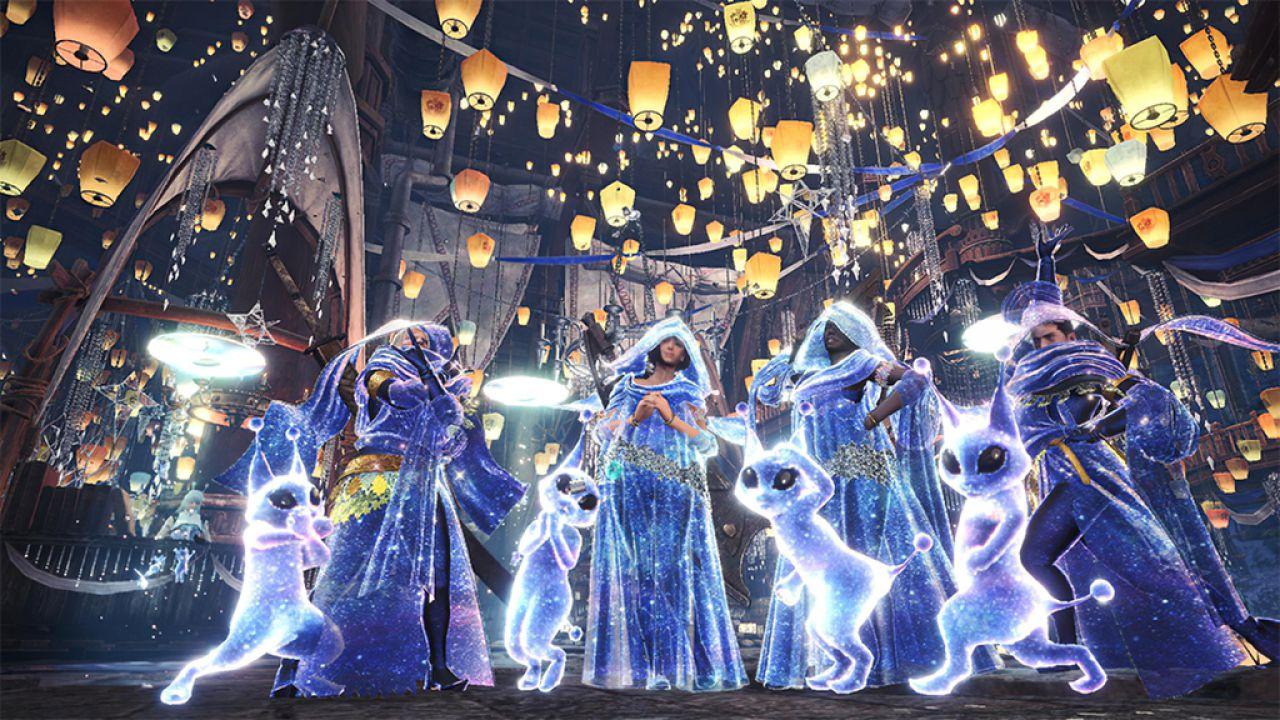 Monster Hunter World compie due anni: apre il Festival di Ringraziamento di Astera