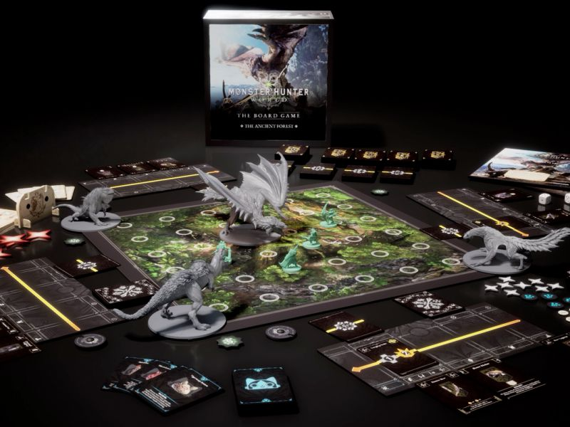 Monster Hunter World becomes a board game: Kickstarter campaign soon