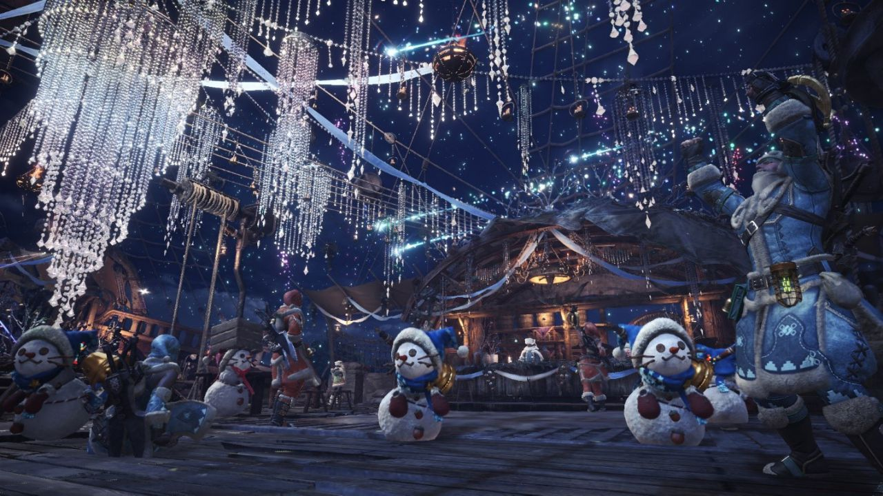 Monster Hunter World e Iceborne: una marea di novità natalizie, ritorna l'evento Horizon!