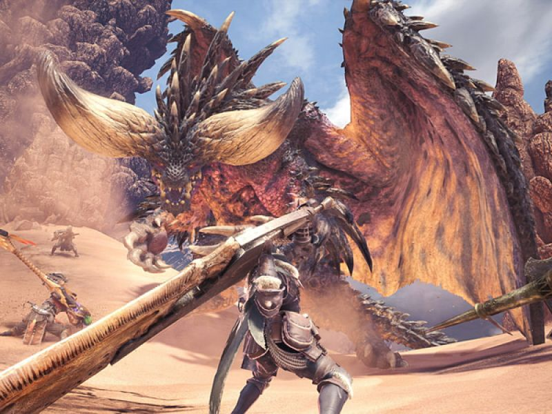 Monster Hunter World: un nuovo video gameplay mostra la Valle Putrefatta