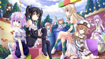 Monster Monpiece, Hyperdimension Neptunia U e Hyperdevotion Noire debutteranno su Steam nel 2016