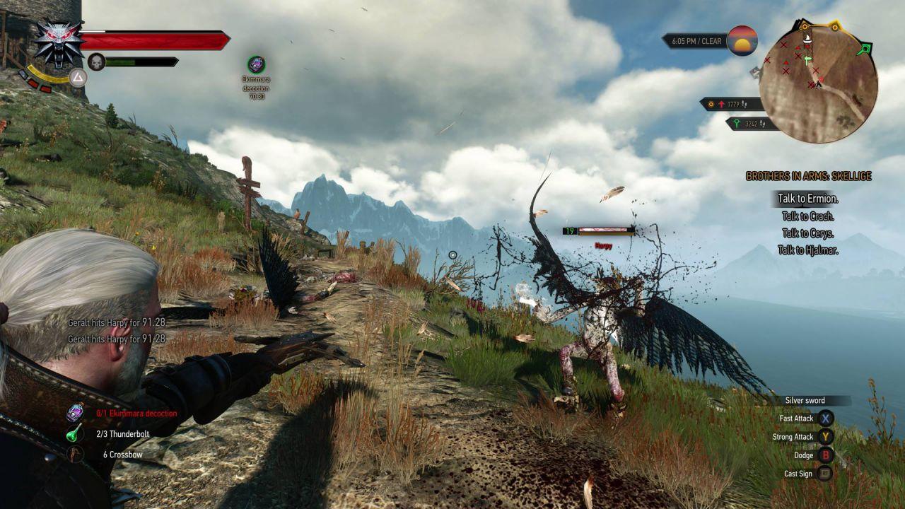 Mostri enormi ci aspettano nel vastissimo mondo di The Witcher 3 Wild Hunt