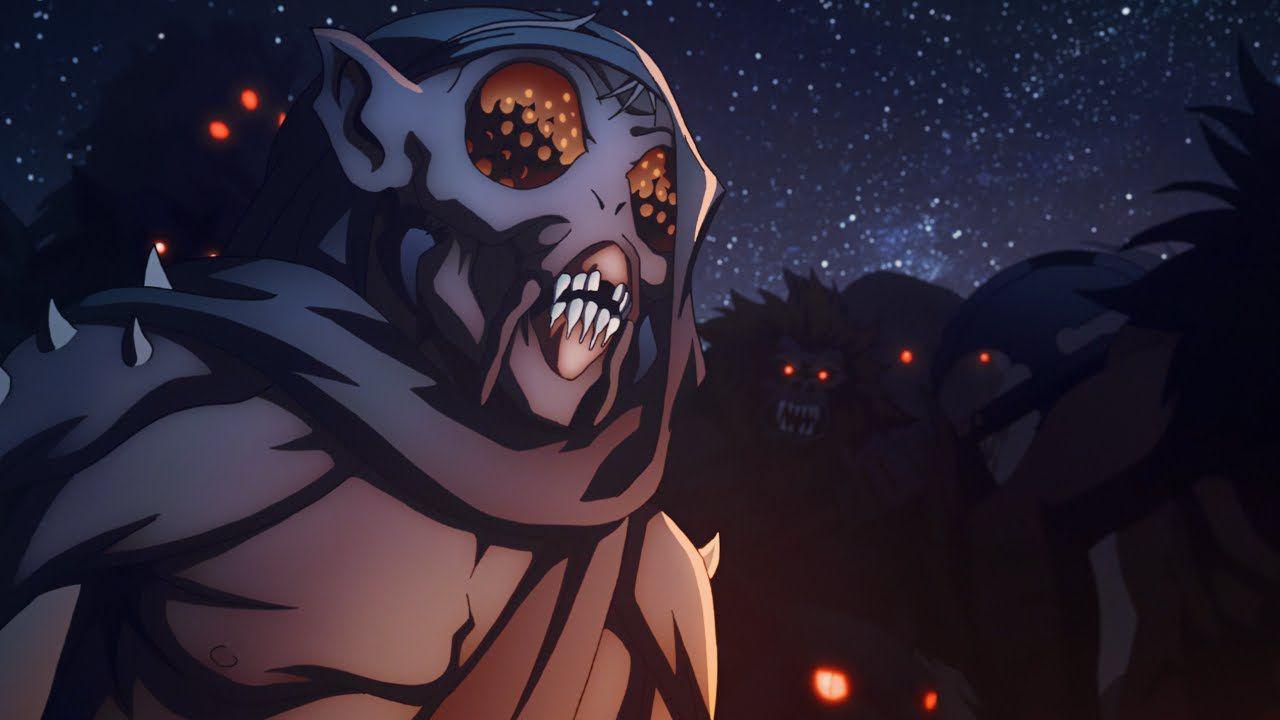 Mostri raccapriccianti in Castlevania 3. Il demone dagli occhi di mosca è uno di questi