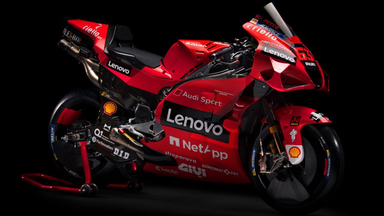 MotoGP: Ducati firma con Lenovo e lancia in pista Bagnaia e Miller