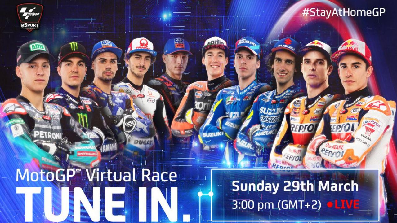 MotoGP: svelata la Virtual Race del Mugello con Marquez, Rossi, Vinales, Rins e Quartararo