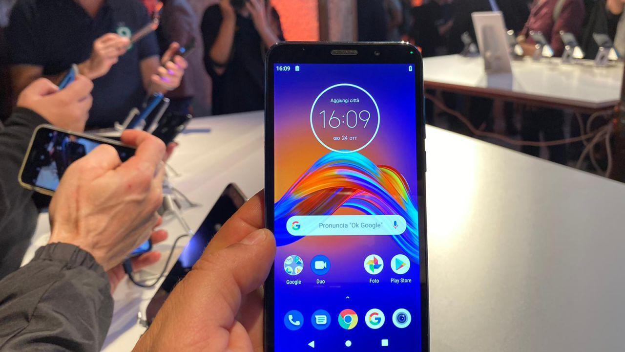Motorola lancia in Italia Moto G8 Plus, Moto E6 Play ed One Macro: si parte da 119,99 Euro