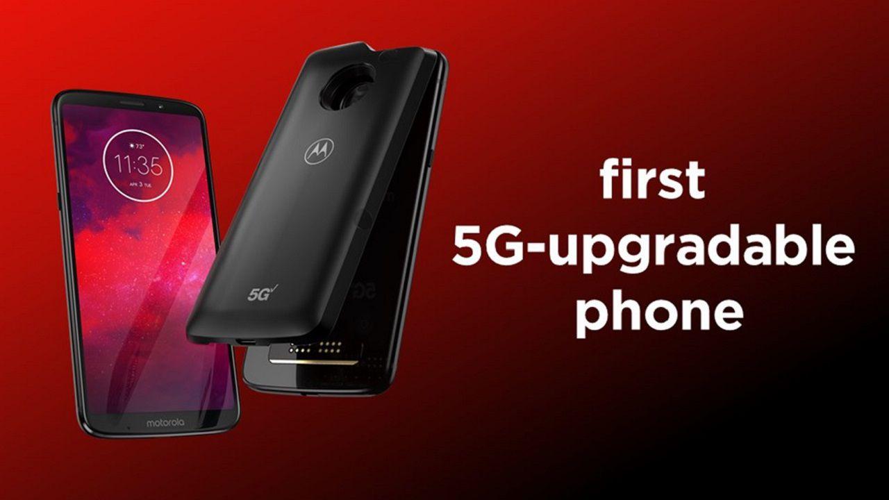 Motorola Moto Z3 è il primo smartphone con supporto al 5G tramite Moto Mod