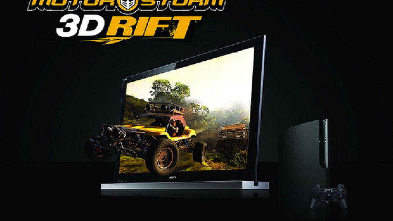 MotorStorm 3D Rift in arrivo su PSN