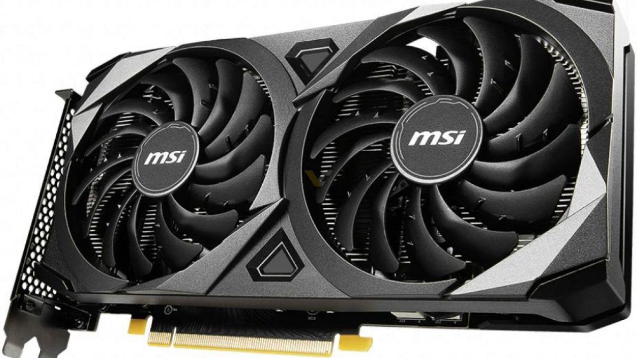 MSI, annunciata la serie GeForce RTX 3060 Ti VENTUS 2X V1