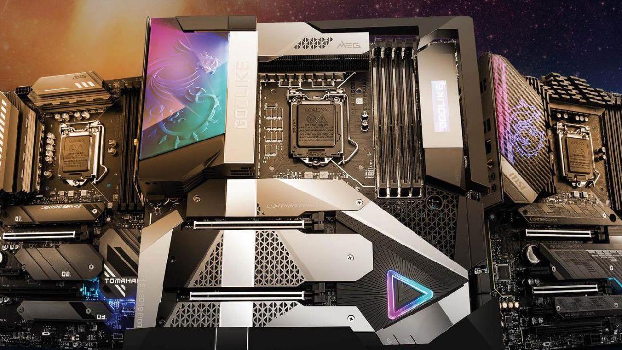 MSI presenta la nuova serie di schede madri MSI Intel 500