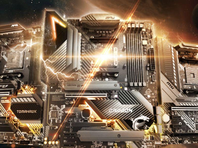 MSI presenta le nuove schede madri B550 per i processori AMD Ryzen di terza generazione