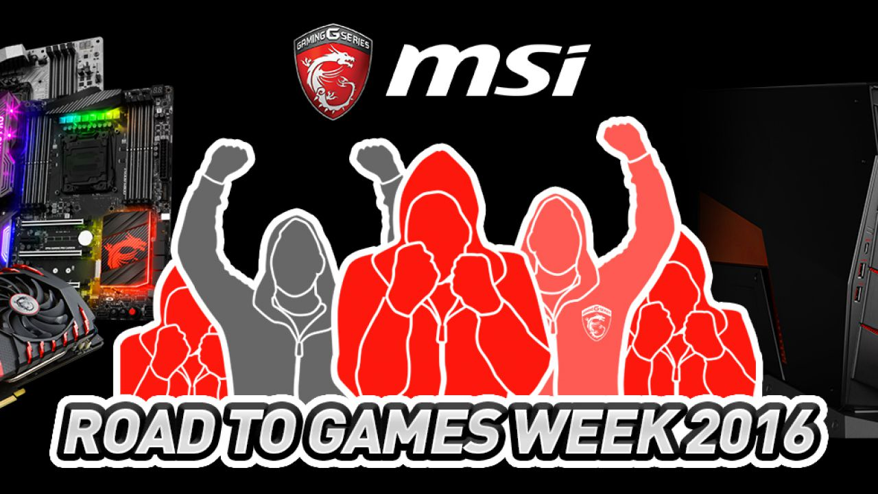 MSI Road to Games Week 2016: diventa pro player per un giorno!