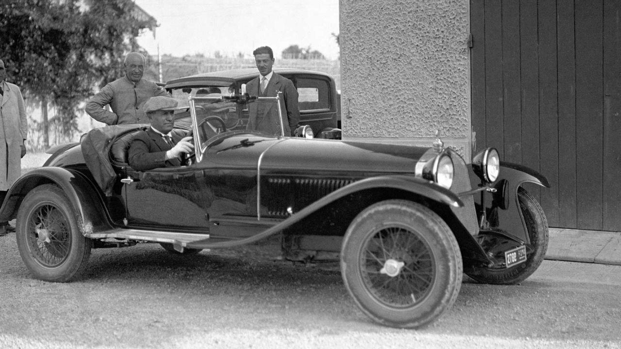 Mussolini possedeva l'Alfa Romeo 6C appena riscoperta, ma è da restaurare