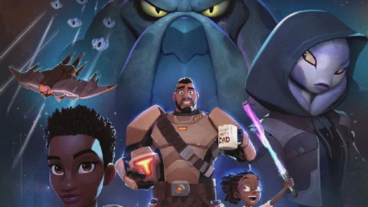 My Dad the Bounty Hunter, tutti i dettagli sulla nuova serie animata Netflix