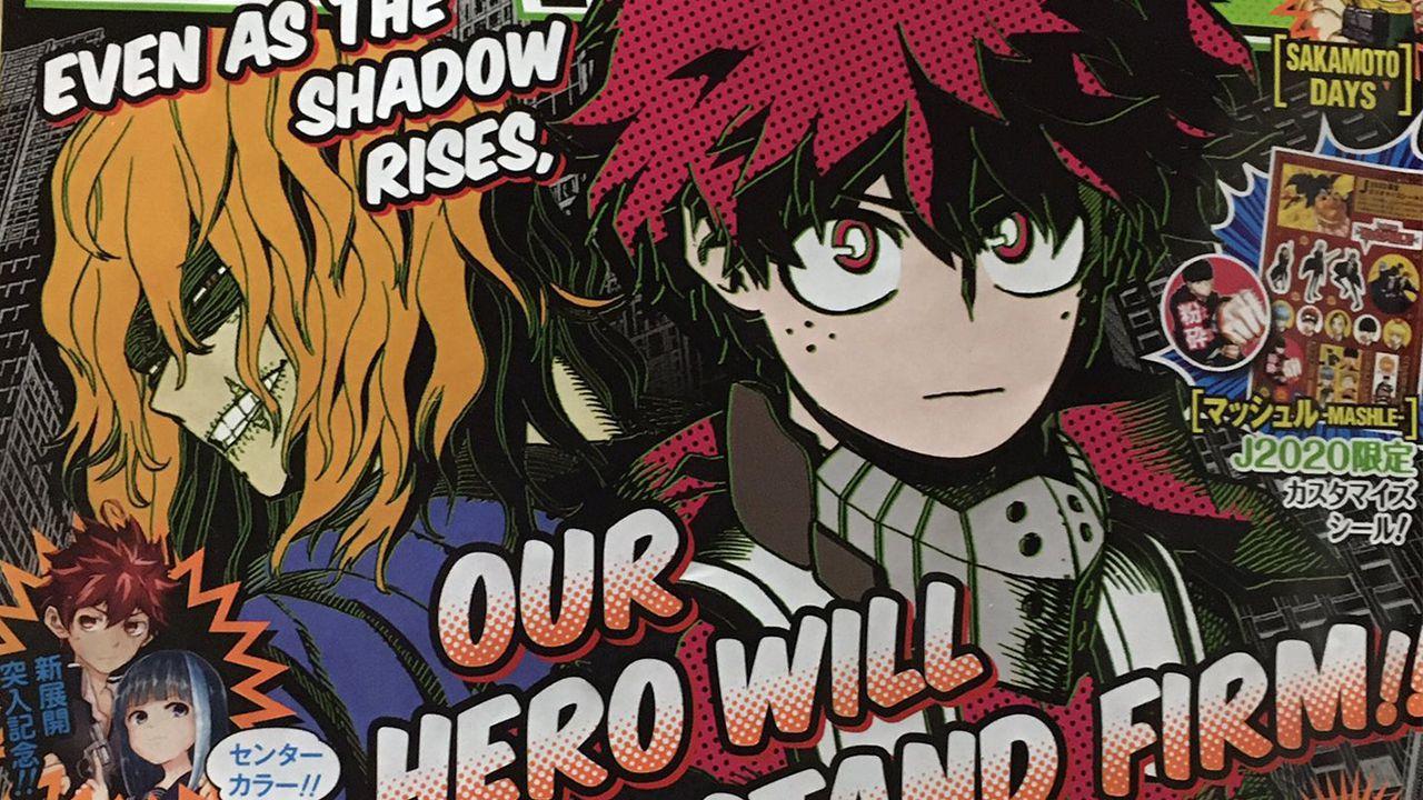 My Hero Academia 293 spoiler e immagini: l'urlo di Bakugo e la volontà di Deku