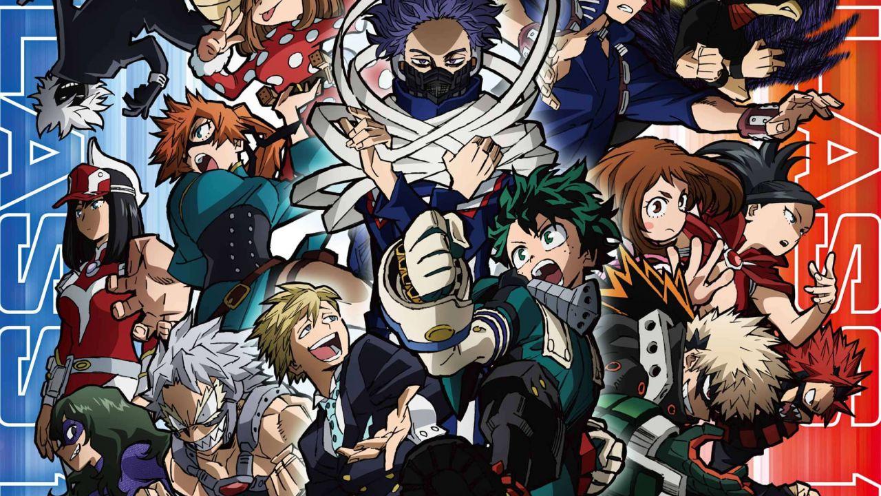 My Hero Academia 5: inizia la nuova stagione, ecco alcune immagini del primo episodio