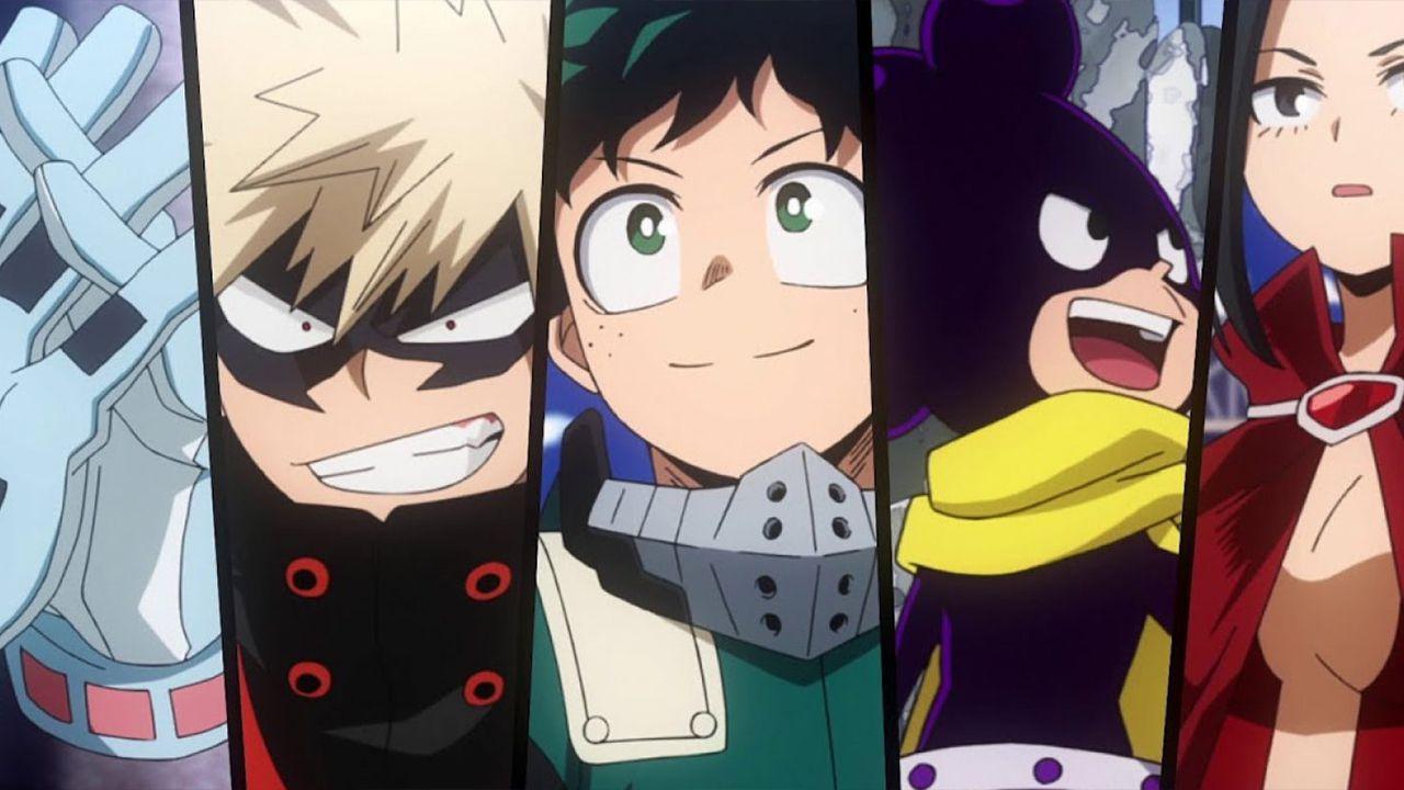 My Hero Academia 5: la nuova stagione sbarca con sottotitoli in italiano su Crunchyroll