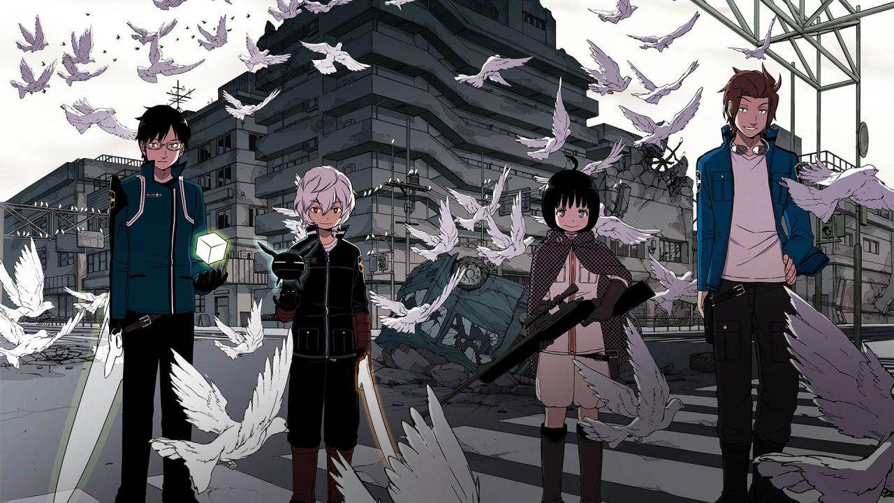 My Hero Academia: l'autore illustra Nasu e Katori di World Trigger