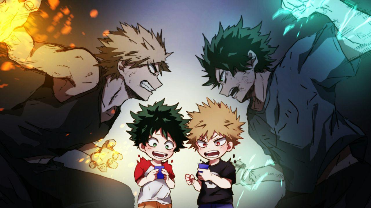 My Hero Academia Come Si Evolverà La Rivalità Tra Deku E Bakugo