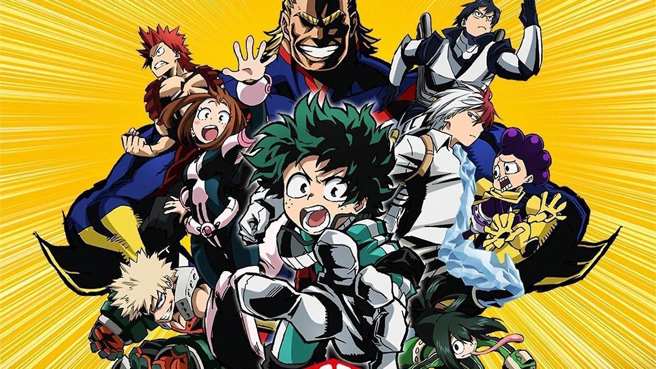 My Hero Academia: Deku e compagni si mostrano nella nuova key visual della quinta stagione