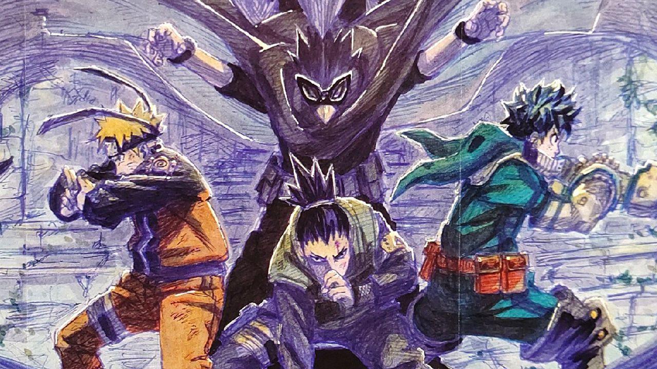 My Hero Academia disegnato dall'autore di Naruto, rivelato lo spettacolare poster