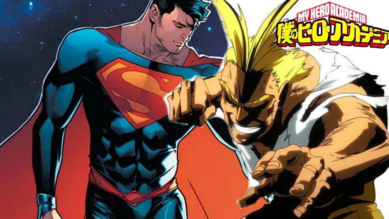 My Hero Academia incontra Superman in questo crossover realizzato da un fan