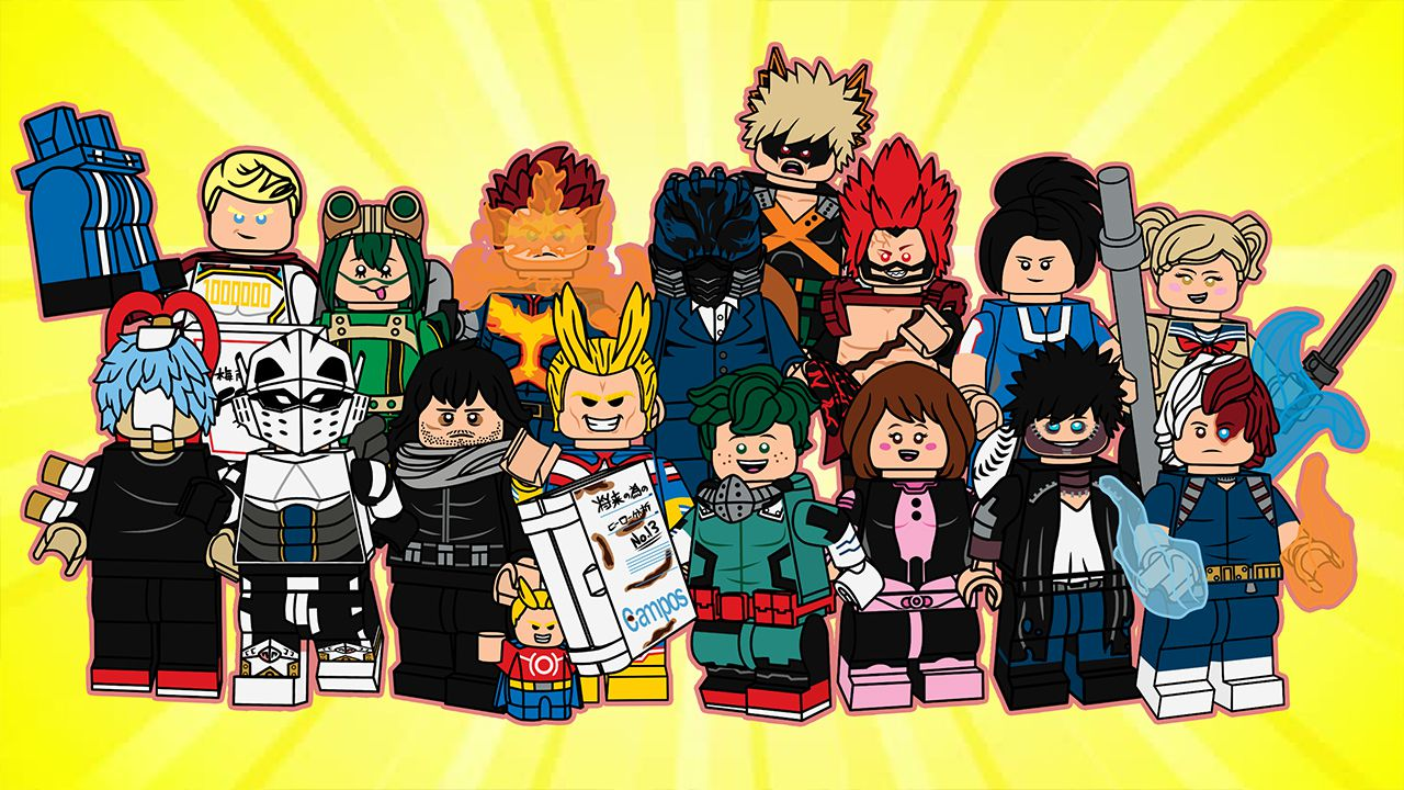 My Hero Academia diventa un LEGO grazie al set custom di un fan