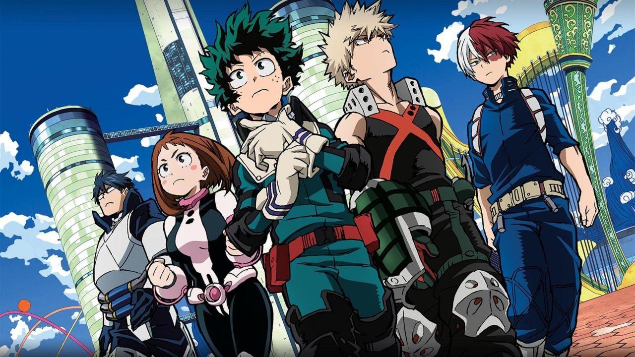 My Hero Academia: l'opera di Horikoshi domina tutte le top anime e manga di Tumblr