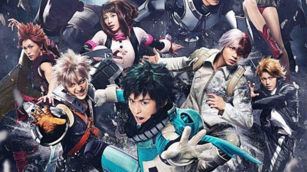 My Hero Academia: presentati i costumi degli attori di Dabi, Twice e Himiko Toga