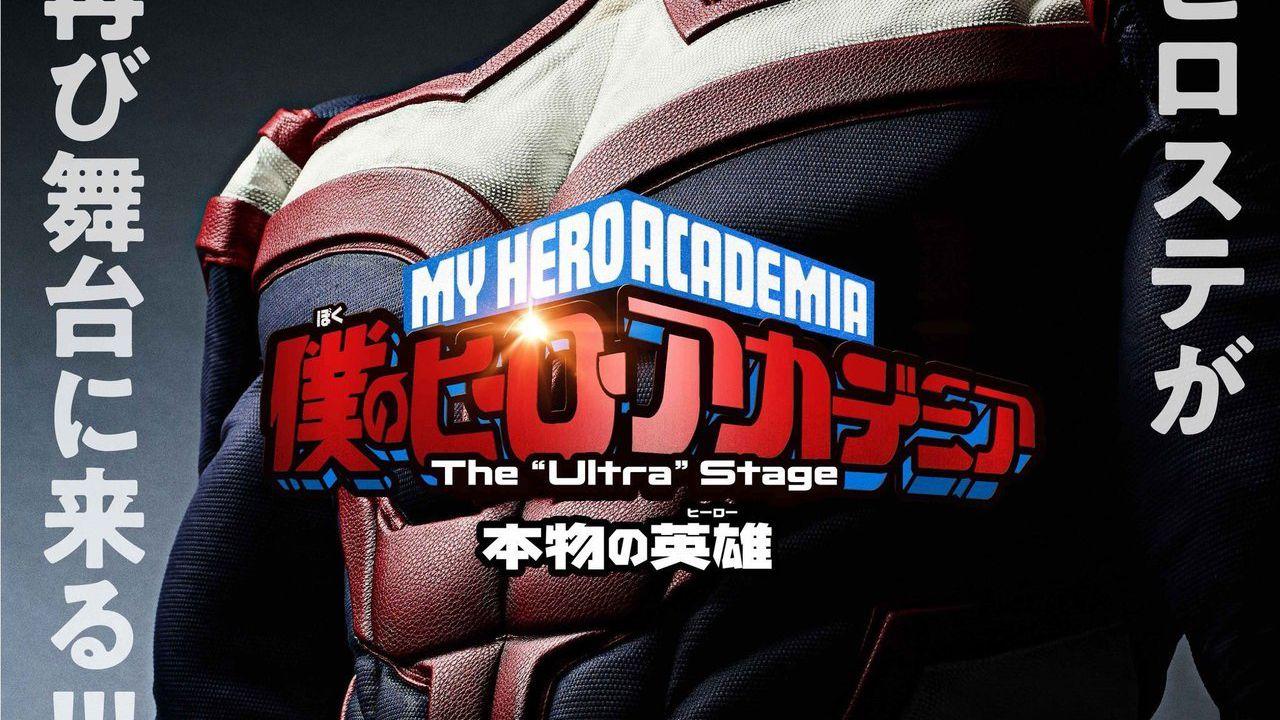 My Hero Academia: il secondo spettacolo teatrale è stato rimandato