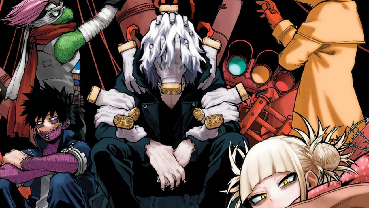 My Hero Academia: una serie di vecchie conoscenze minaccia la società degli eroi