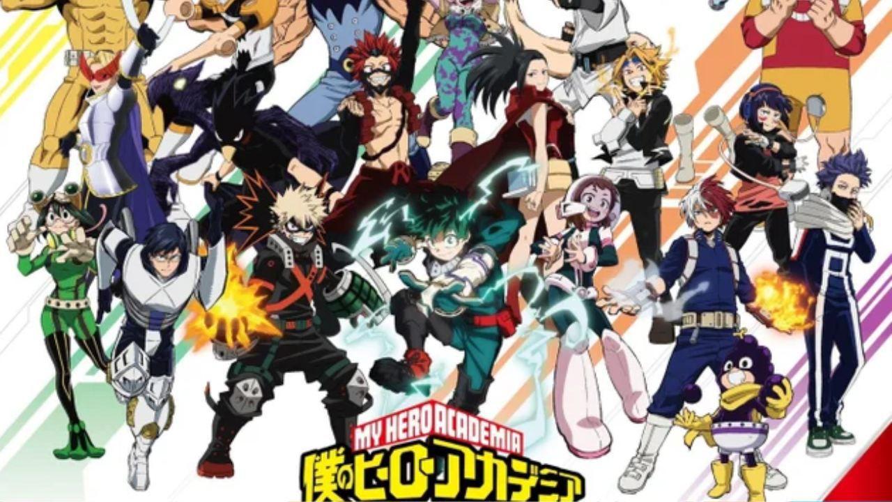 My Hero Academia: Shinso al centro dell'attenzione nel nuovo poster della quinta stagione
