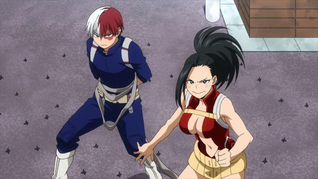 My Hero Academia: Todoroki e Yaoyorozu danno vita a uno splendido cosplay di coppia