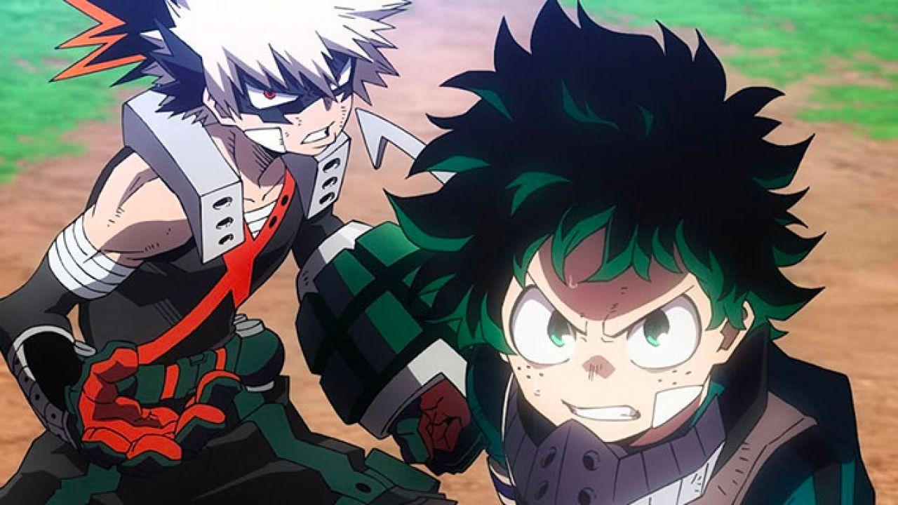 My Hero Academia: l'ultima puntata dell'anime si ricollega a Heroes Rising