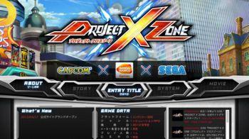NAMCO BANDAI Games Europe annuncia l'uscita di Project X Zone su 3DS