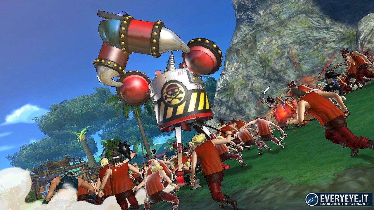 Namco Bandai e GameStop presentano il One Piece Week End italiano!