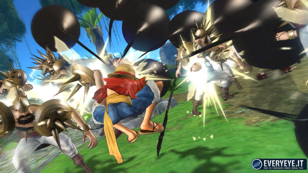 Namco Bandai porta  One Piece Pirate Warriors 2 al Milano Manga Festival