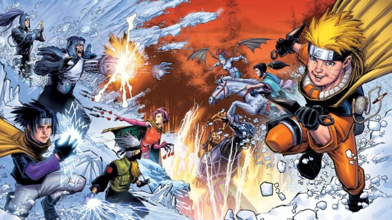 Naruto: disegnatore Marvel spiega l'inusuale cover dell'edizione Home Video