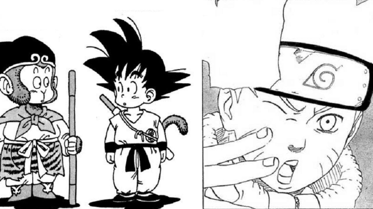 Naruto: quella volta che due personaggi di Dragon Ball apparvero nel manga